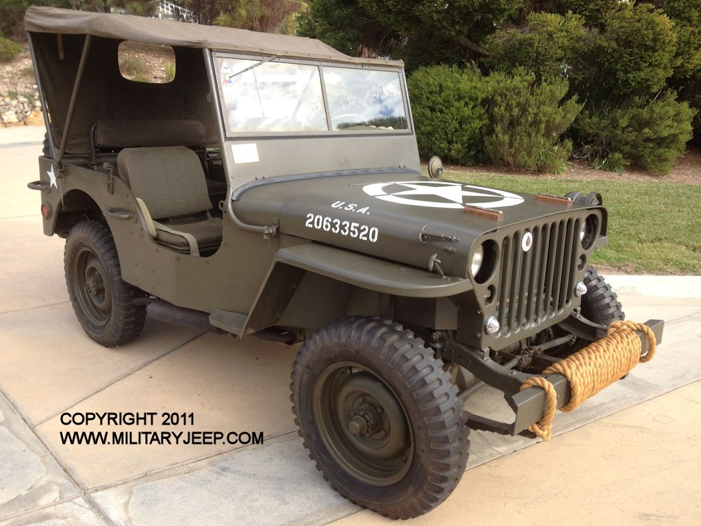 1944 willys mb jeep for sale. Black Bedroom Furniture Sets. Home Design Ideas