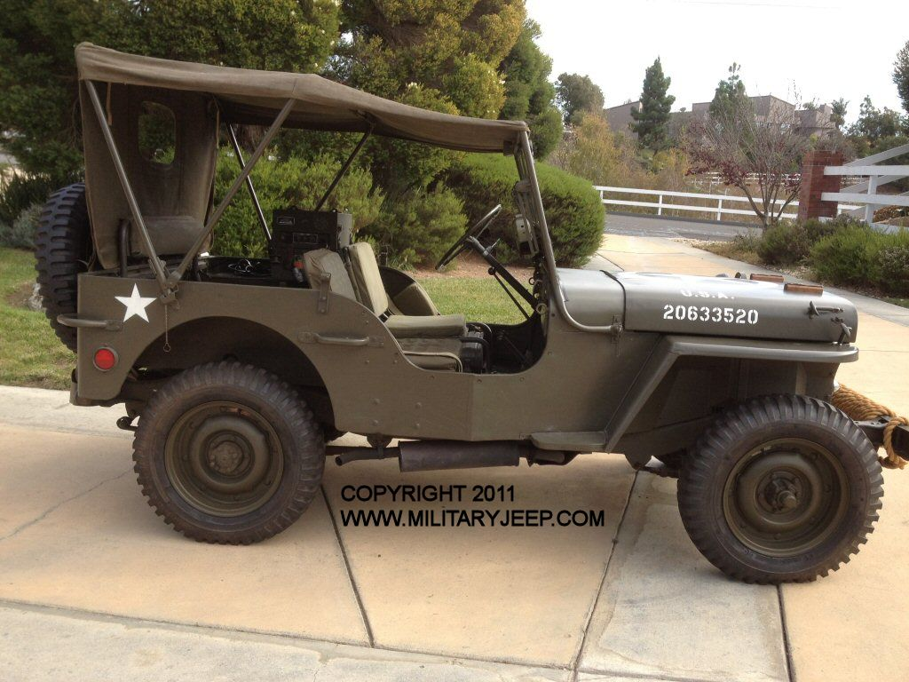 1944 Willys MB Jeep for Sale - Militaryjeep com