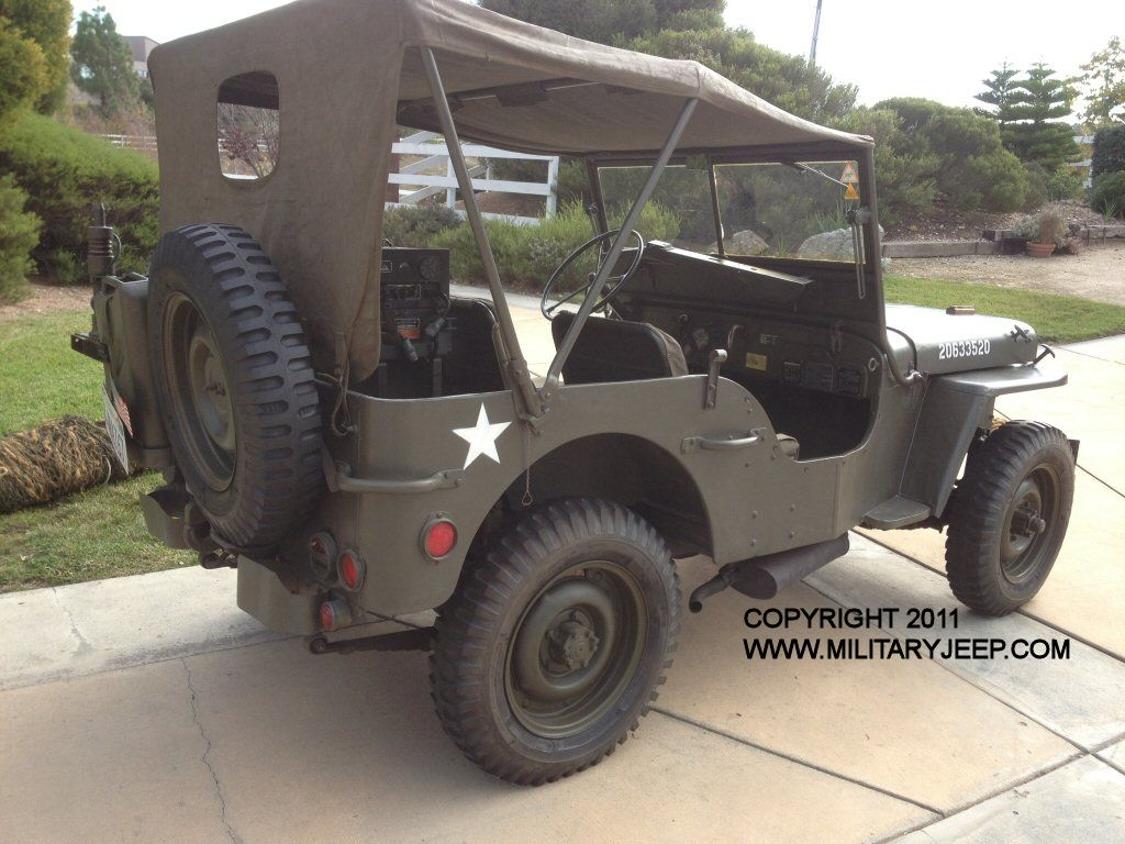 1944 Willys Mb Jeep For Sale Militaryjeep Com