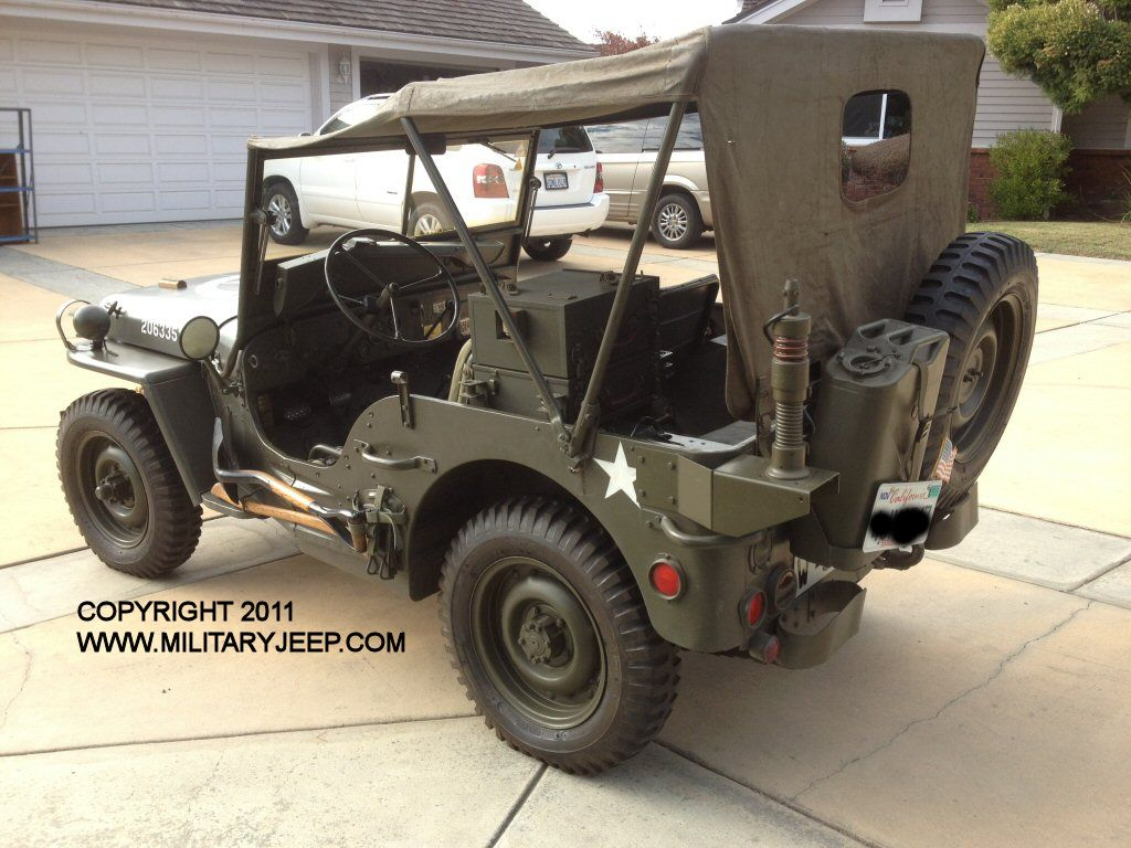 1944 wwii willys mb jeep