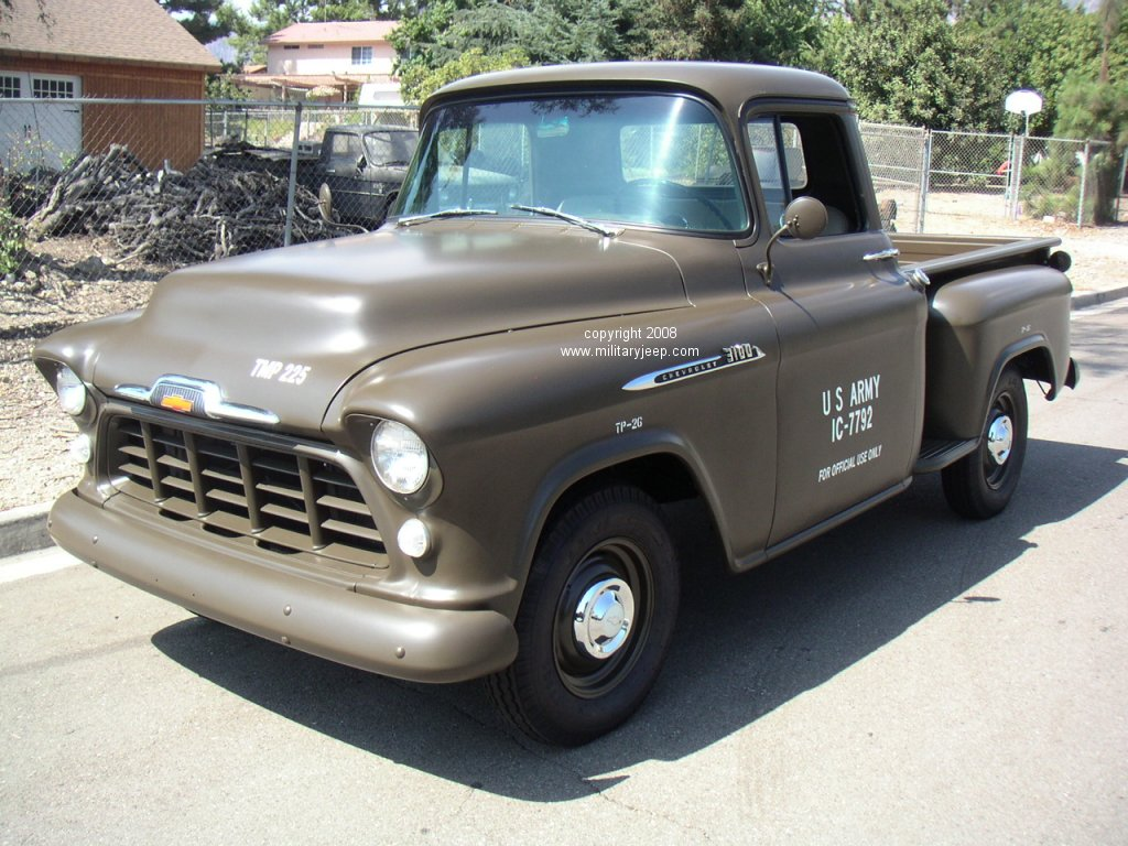 on 1956 Chevy Truck 235 Engine