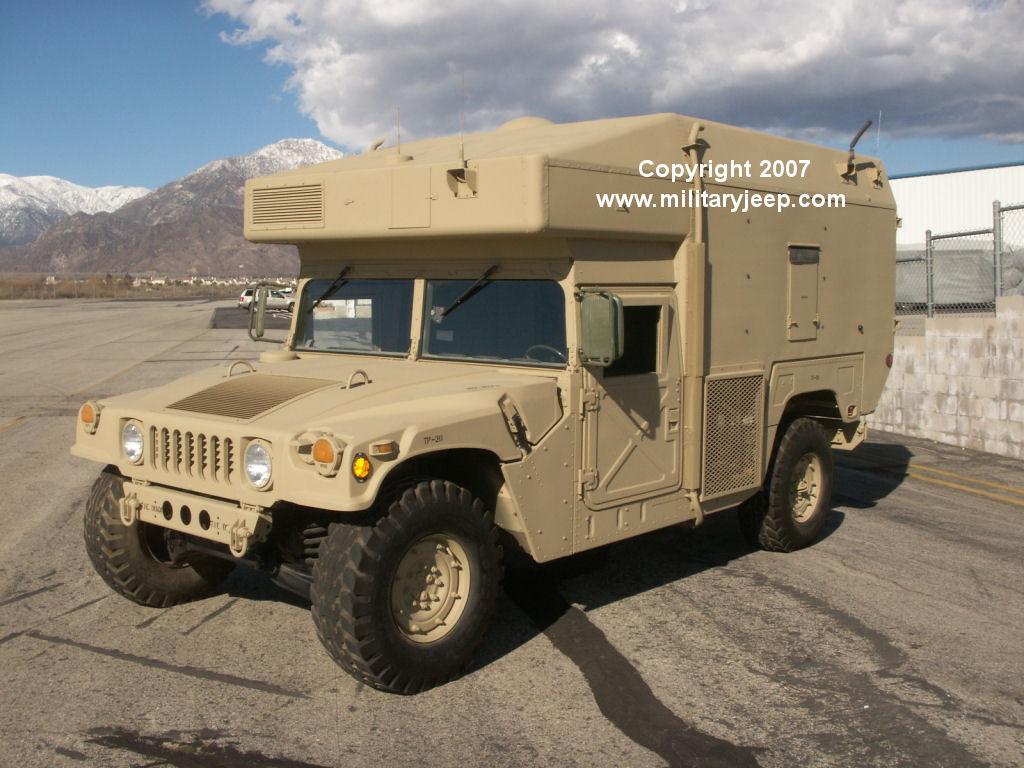 Militaryjeep Com Humvee Command Communications Vehicle