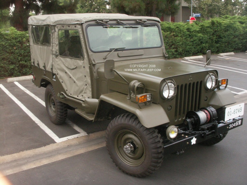 rare mitsubishi military jeep turbo diesel pirate4x4 com 4x4 and off ro. Cars Review. Best American Auto & Cars Review