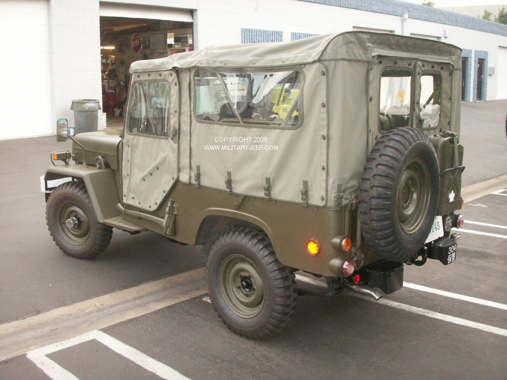 Used Tires Portland >> Militaryjeep.com - Mitsubsihi Jietai Japanese Military Jeep