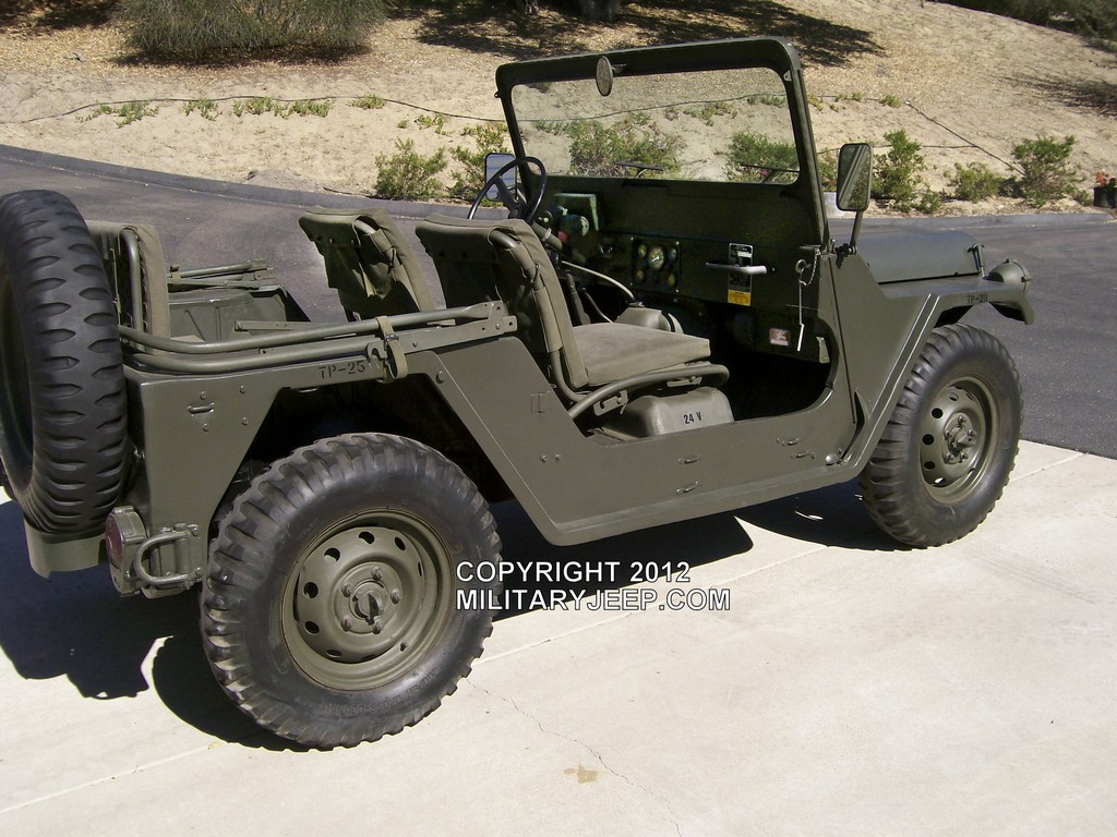 Militaryjeep.com - M151A2 MUTT Jeep For Sale