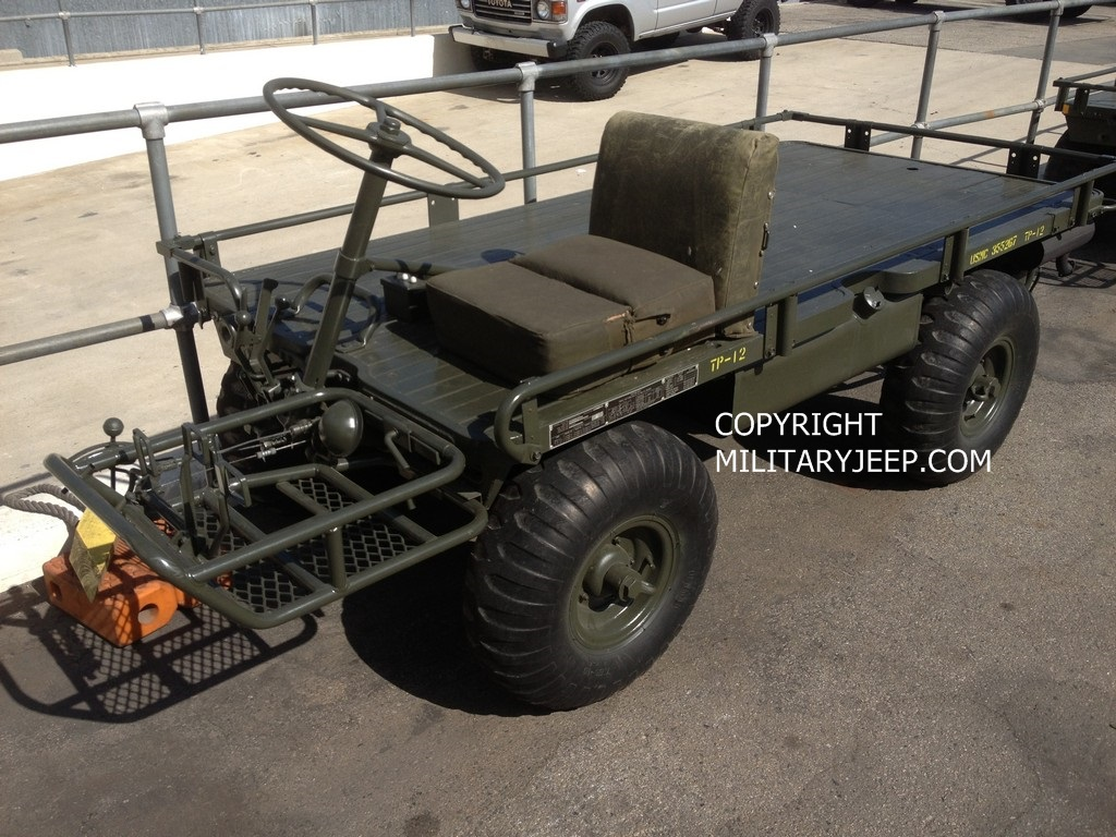 Militaryjeep.com - M274A2 4 Wheel Steer Military Mule For Sale